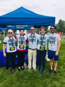 mercy housing employees and partners at colfax marathon