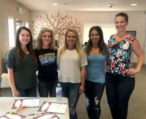 five mercy housing volunteers