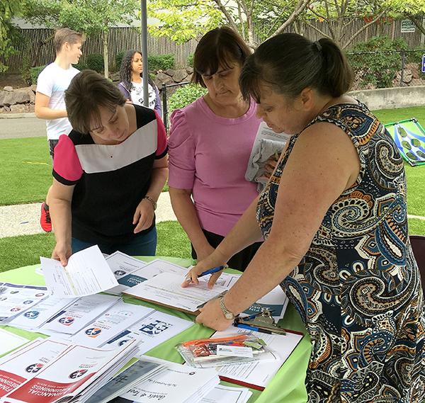 Lincoln Way, Language Liaison Interpretation at Health Fair