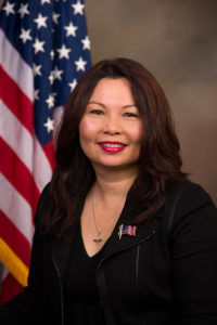 official government photo of Tammy Duckworth; in full color