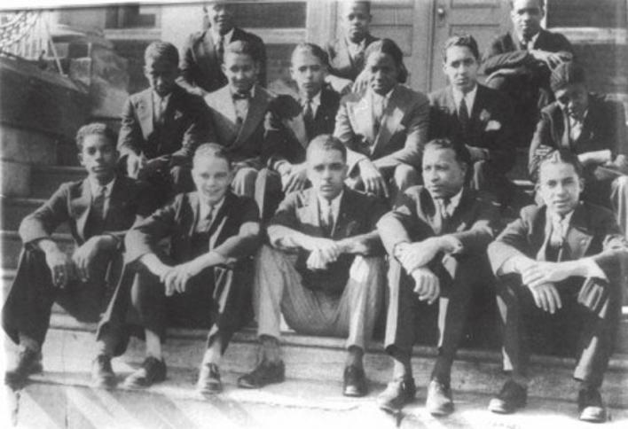 Thurgood Marshall as a student