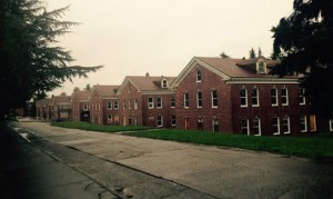 When completed in mid-2018, the United States Navy barracks at Magnuson Park will be priced for renters who earn up to 60 percent of the Seattle area