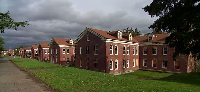 The old World War II Navy barracks at Magnuson park are going to serve once again. Photo originally captured by  KomoNews.com