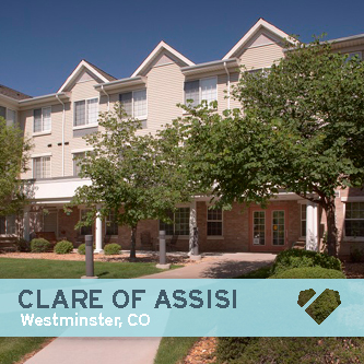 Clare of Assisi, Westminster, CO