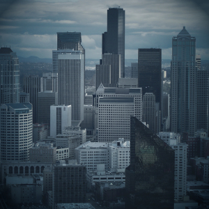 An image of the Seattle skyline