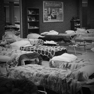 'Homeless Shelter Stays Open in Preparation for Storm' by Flickr user KOMUnews