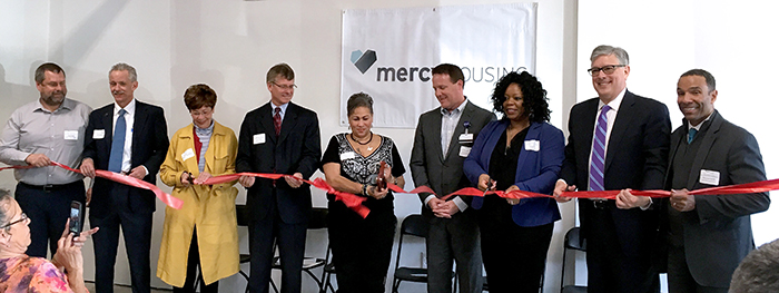 On April 19, 2018, Mercy Housing Lakefront celebrated the grand opening of River Station Senior Residences, our new senior independent living community in Kankakee, IL.