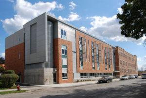 Johnston Center facade
