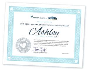 Mountain Plains EPIC Scholarship Winner: Ashley