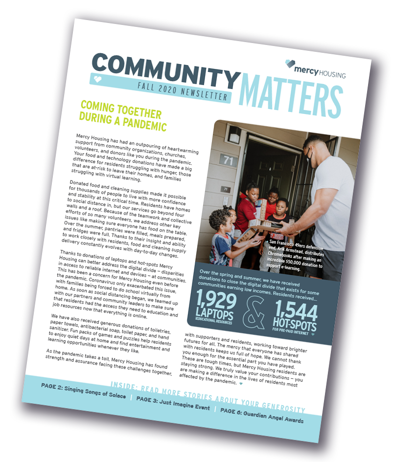 Community Matters Post-celebration Newsletter