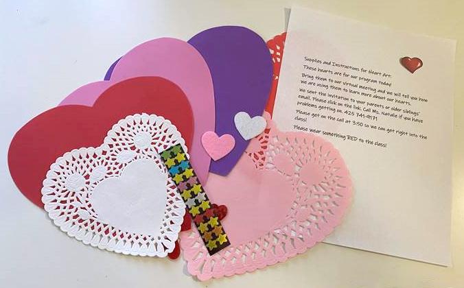 Heart art kit