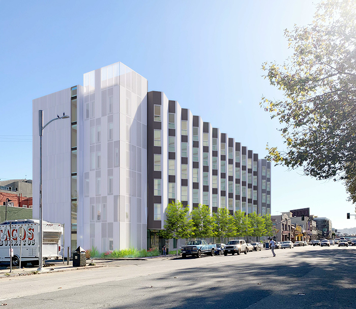 833 Bryant will have 146 micro studios for people who are currently experiencing homelessness