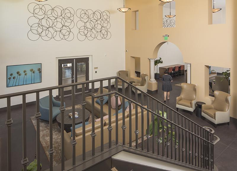 Villa de Vida Poway lobby